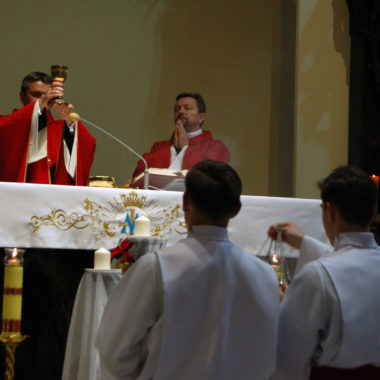 Ministranckie świętowanie