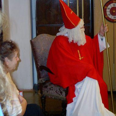 Mikołaj w świetlicy parafialnej