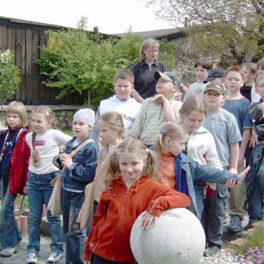 Wycieczka dzieci do Piekar
