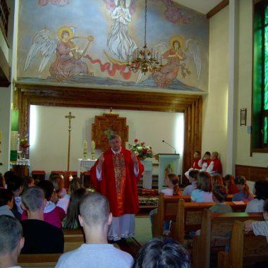 Kolonie parafialne w Białogórze