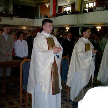 Święcenie prezbiteratu Grzegorza Tondery