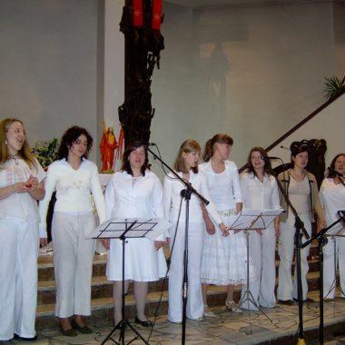 Występ zespołu gospelowego
