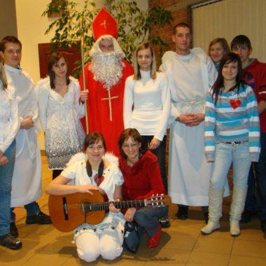 Mikołaj w Parafii