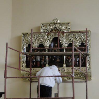 Renowacja Tryptyku i konfesjonału