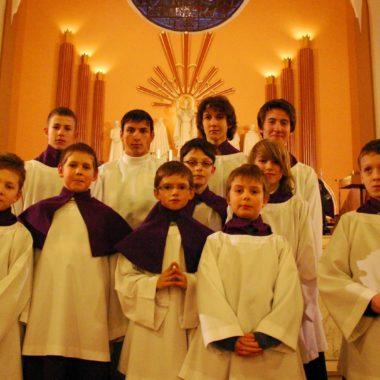 Ministranci na Diakonacie