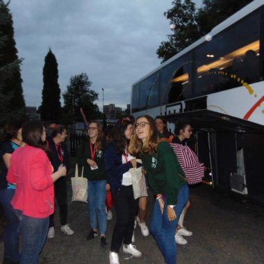 Światowe Dni Młodzieży – powitanie młodzieży