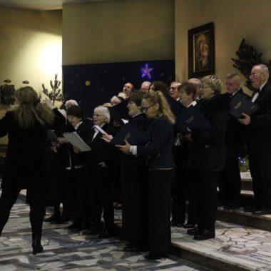 Kolędowanie chóru Dei Patris