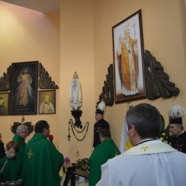 Msza na zakończenie Misji z wprowadzeniem Relikwii Świętego Jana Pawła II