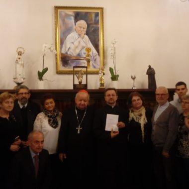 Odbiór Relikwii Świętego Jana Pawła II